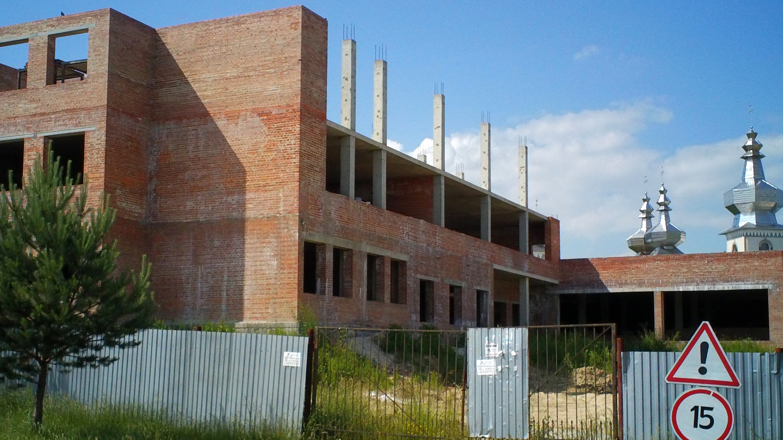 Будівництво школи у Сокільниках