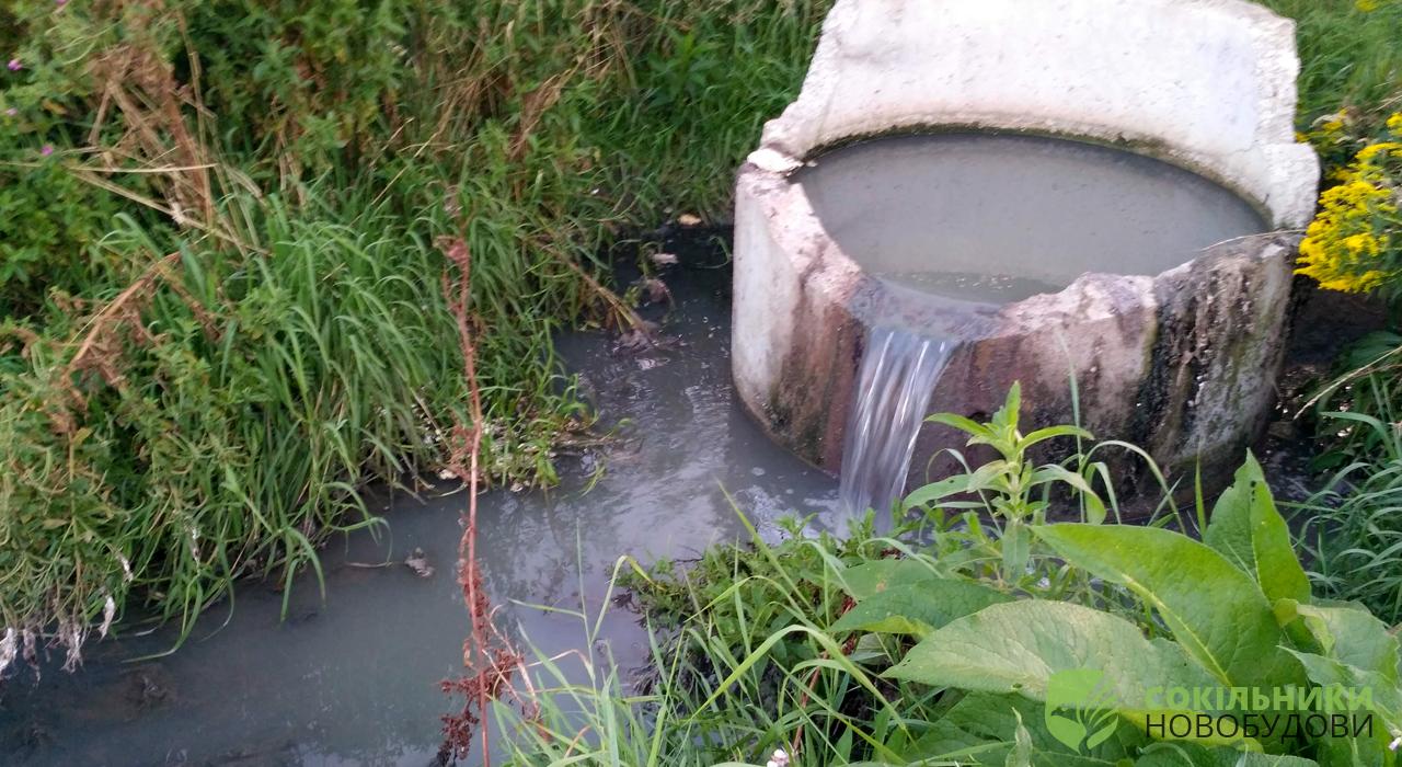 каналізація із цілого ЖК «Південий» і далі тече в поле