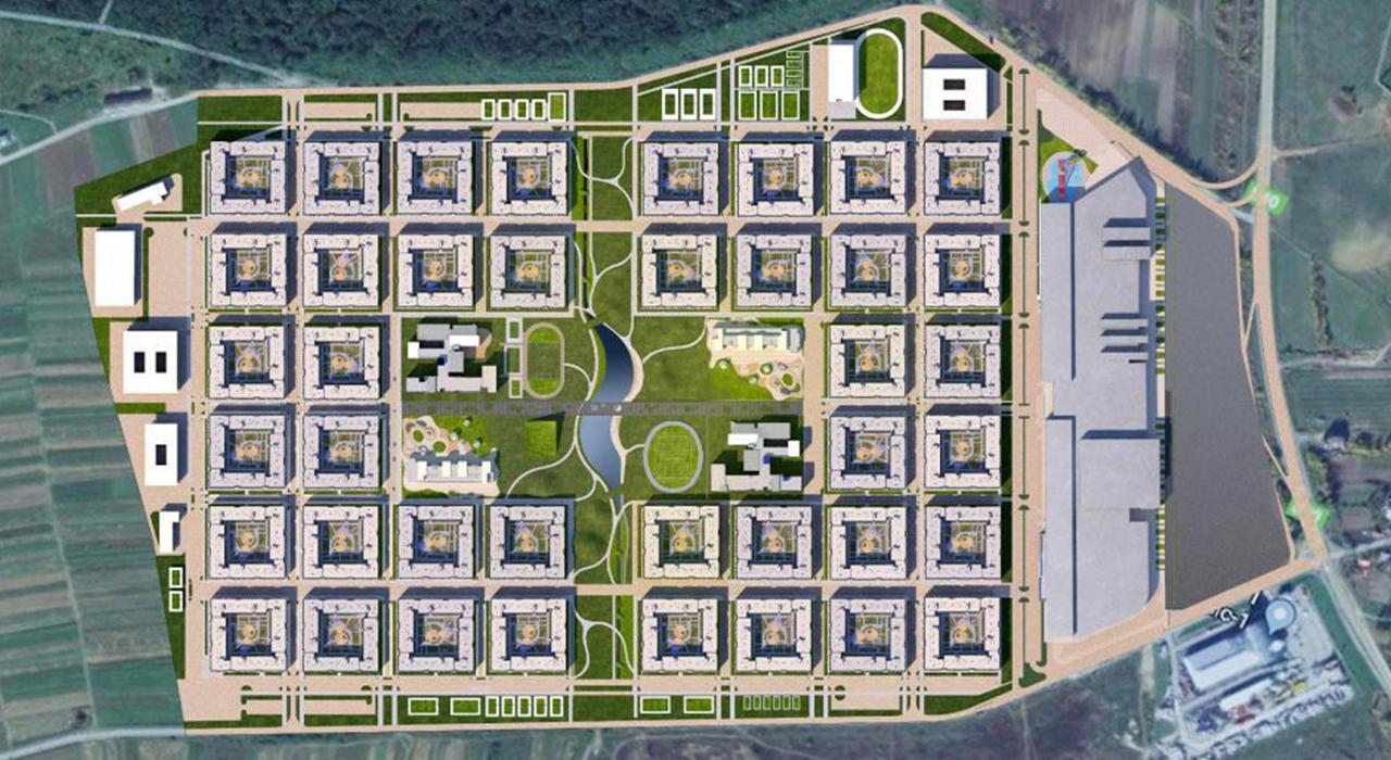 ЖК Parkside на мапі